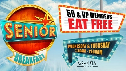 The Winstar's free Senior Breakfast attracts 2,000 guests daily