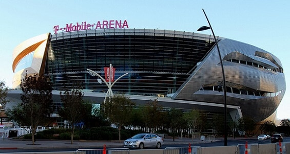 T-Mobile Arena has lots of paid parking