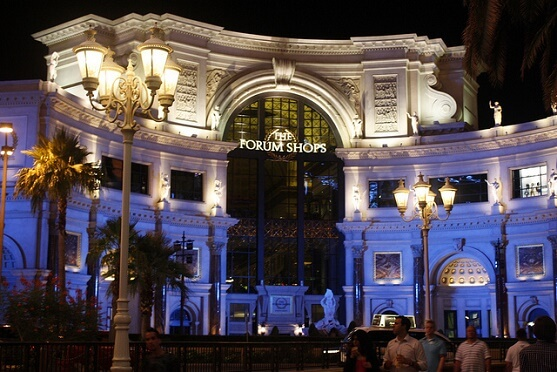 eba3be13ccb6 The Forum Shops at Caesars Palace is the most successful mall in the United  States