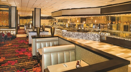 Inside the Medley Buffet at The Orleans
