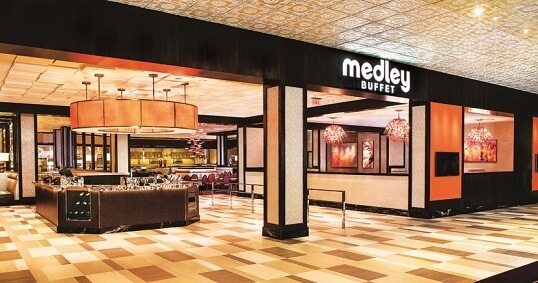 The remodeled Medley Buffet at The Orleans Hotel & Casino