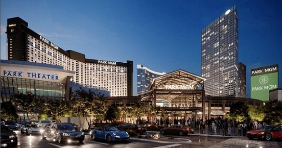 Rendering of the new Park MGM
