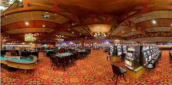 Inside the 1st Jackpot Casino in north Tunica