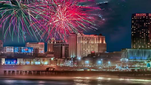 Atlantic City has a great 4th of July Fireworks show