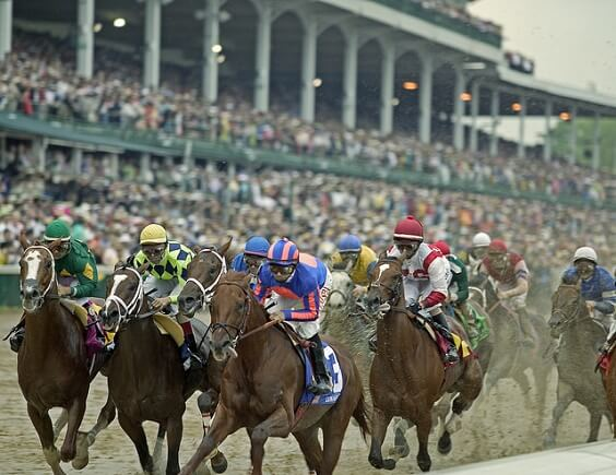 Online horse race wagering is legal in all but a handful of states
