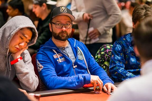 Daniel Negreanu at a World Poker Tour Event