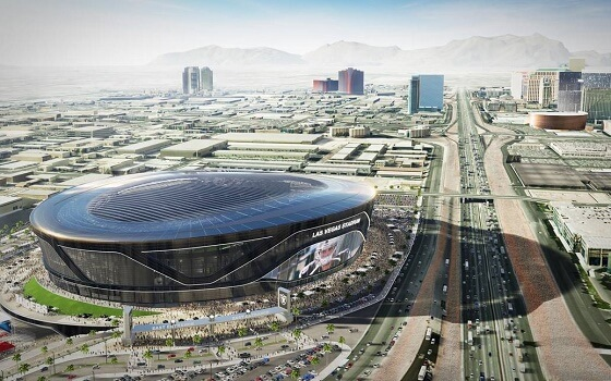 Las Vegas Raiders Allegiant Stadium Location, Map & Distance