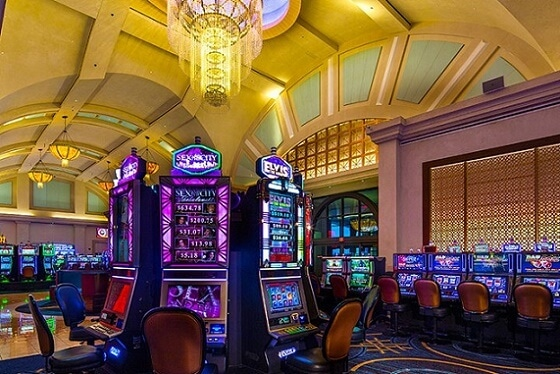 The WinStar has over a half a million square feet of casino floor space