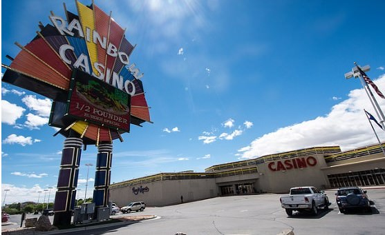 The Rainbow Hotel & Casino is the biggest casino in Wendover