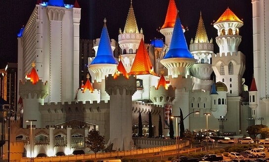Excalibur Hotel & Casino Parking Fee, Valet & Map for 2019