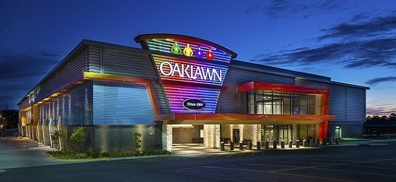 Oaklawn is the closest casino to Little Rock