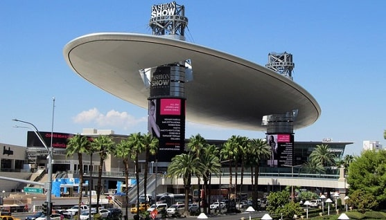 There's plenty of parking at the Fashion Show Mall on the Las Vegas Strip