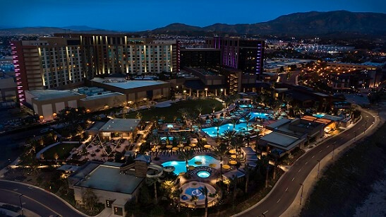 Pechanga is 90 miles south of downtown L.A.