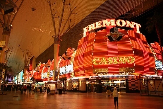 The Fremont Casino in downtown Las Vegas