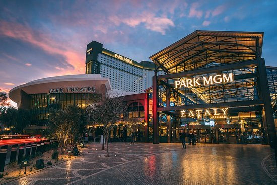 The Park MGM opened in May 2018