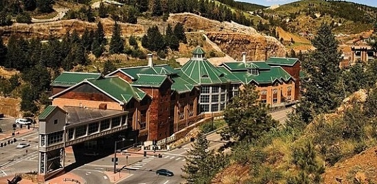 The Lodge Casino is right in the middle of Black Hawk