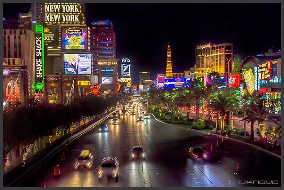 The Las Vegas Strip remains the biggest gambling destination in the United States