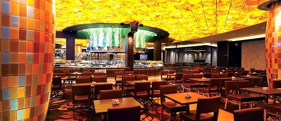 Seasons Buffet at Mohegan Sun can seat 800 people