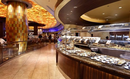 The Dessert area at Mohegan Sun's Seasons Buffet