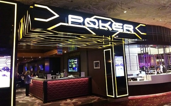 The Poker Room at the Mirage Hotel & Casino