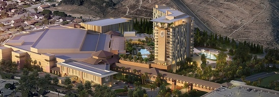 Rendering of the expansion at San Manuel Casino