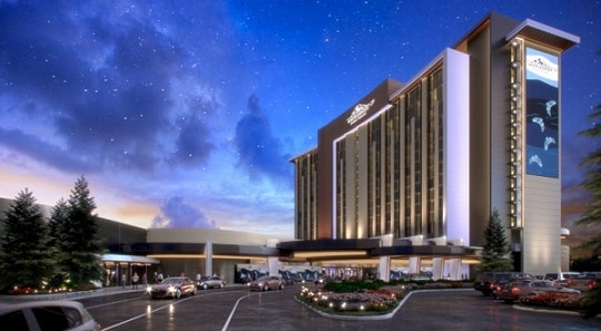 Rendering of the expanded Muckleshoot Casino