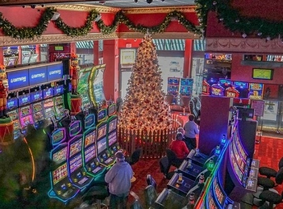 The Christmas Casino in Cripple Creek