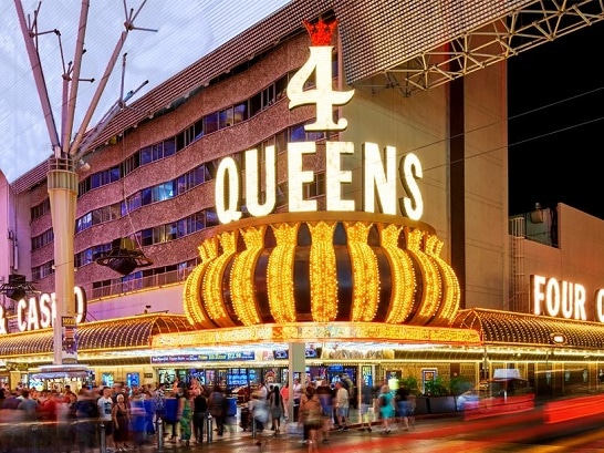 The Four Queens offers basic, affordable lodging