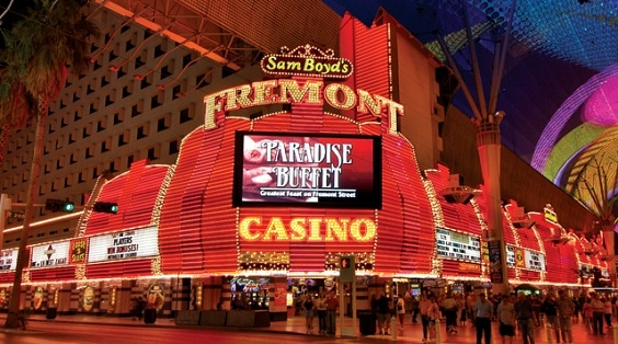 The Fremont Hotel & Casino is a downtown Las Vegas classic