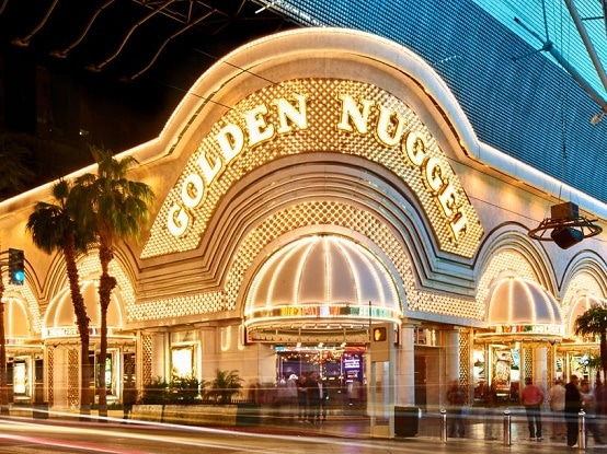 The Golden Nugget is one of the best hotels in downtown Las Vegas