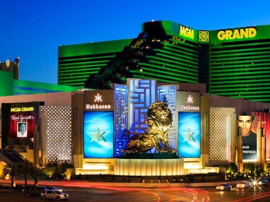 The MGM Grand is one of 30 casinos on the Las Vegas Strip