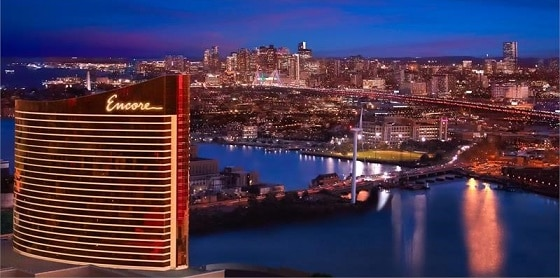 The Encore Boston Harbor is just 4 miles north of downtown Boston.