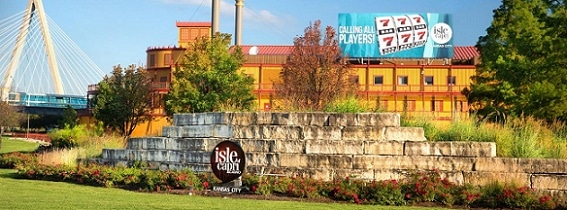 The Isle of Capri is the closest casino to downtown Kansas City