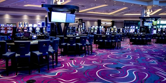 Riverside Casino has over 900 slots and 29 table games