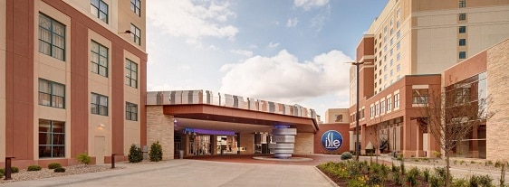 The Isle Casino Bettendorf is the biggest hotel casino in the Quad Cities, with 509 rooms.
