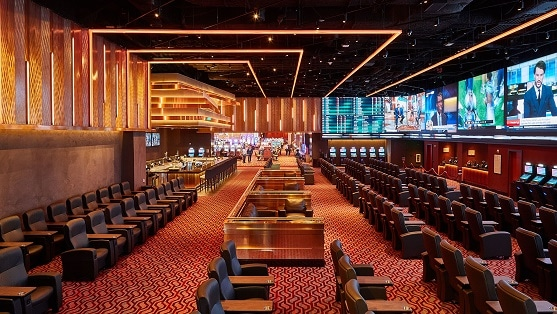 The sportsbook at Parx Casino