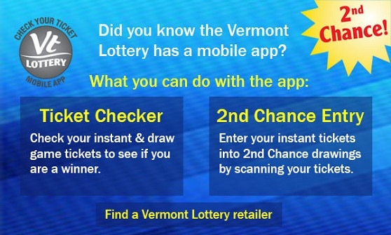 You can download the VTLottery app to easily scan those losing tickets.