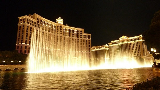 There's plenty of free parking near the Bellagio
