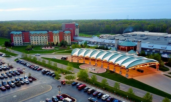 Four Winds Casino New Buffalo is the southernmost of Michigan's 26 casinos