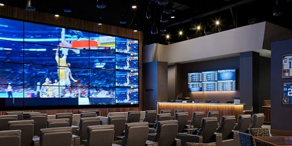 The Winners Circle Sportsbook at the Indiana Grand Casino