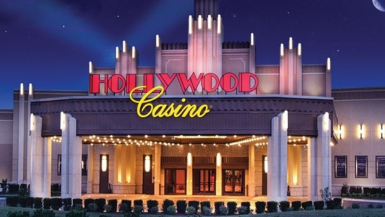 At 50,000 square feet of floor space, the Hollywood Casino in Joliet is the largest casino in Illinois