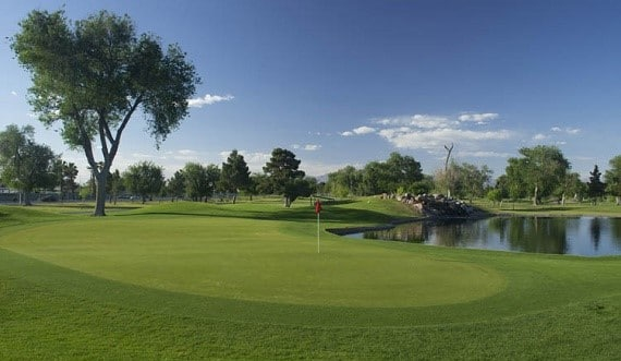 The Las Vegas Golf Club is the closest municipal course to the Strip