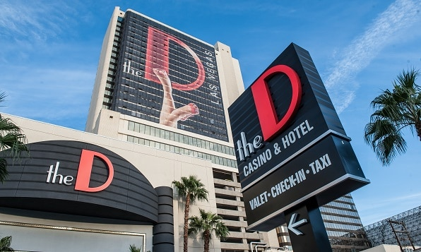 The D is a fun, (and loud) casino in downtown Las Vegas