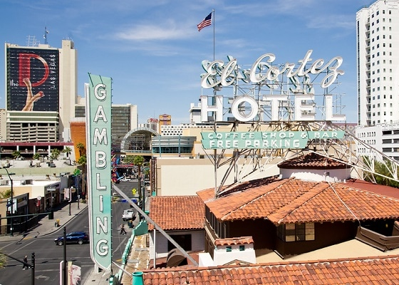 The El Cortez is the longest continously-running casino in all of Las Vegas