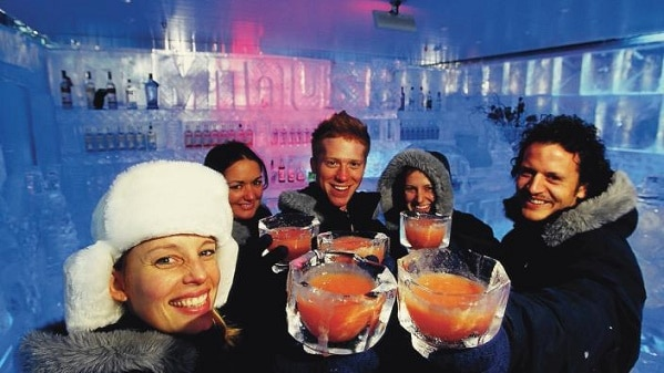The Icebar is proof that the craps tables I play on aren't the only cold thing in Las Vegas