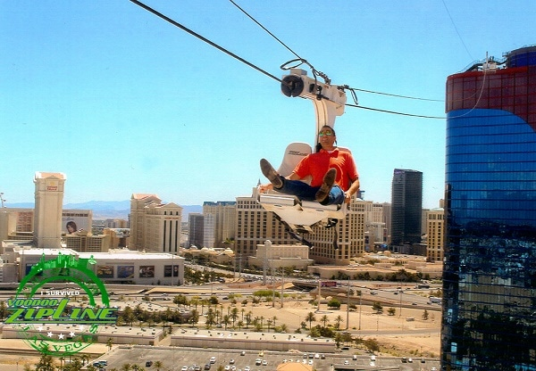 The Voodoo Zipline at the Rio All-Suites Hotel & Casino