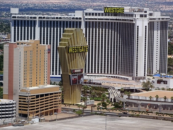 There's lots of free self-parking at the Westgate Las Vegas