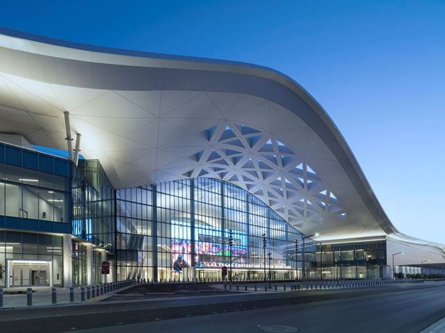 The Las Vegas Convention Center's new West Hall