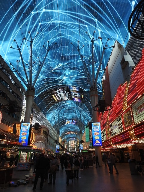 The Fremont Experience Light Show