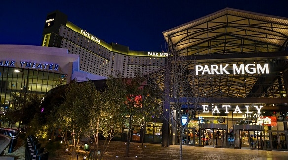 Park MGM charges fees for both self-parking and Valet.